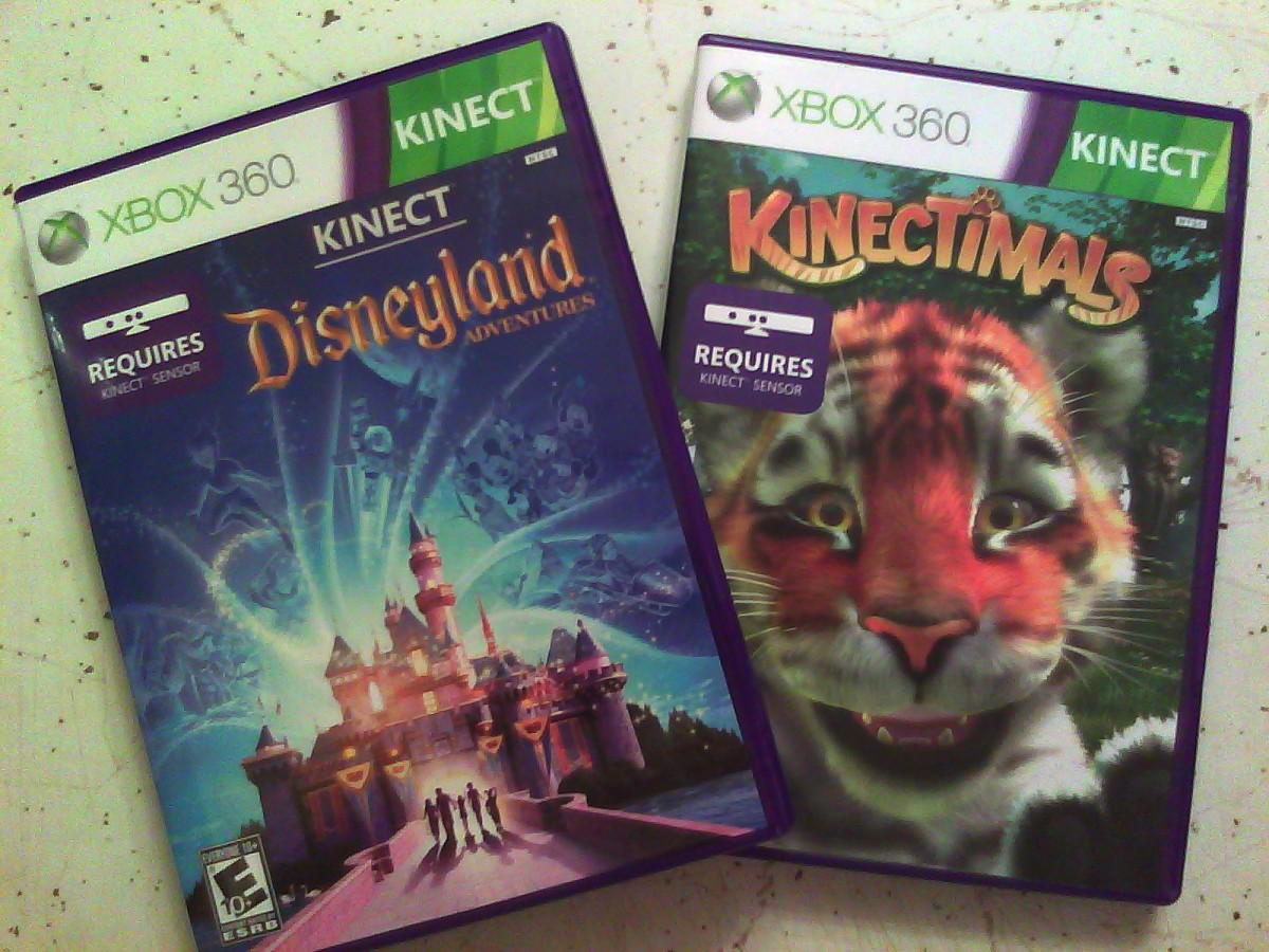 Kid-Friendly Kinect Games