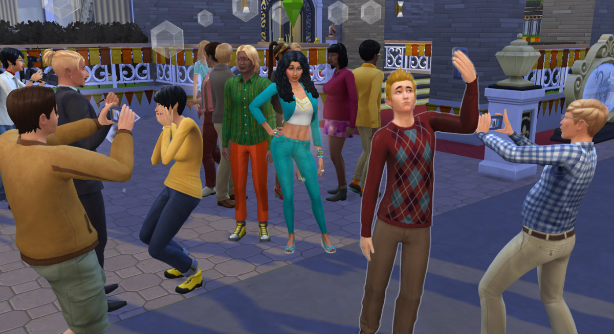 Your character can take The Sims universe by storm if she becomes a big star.