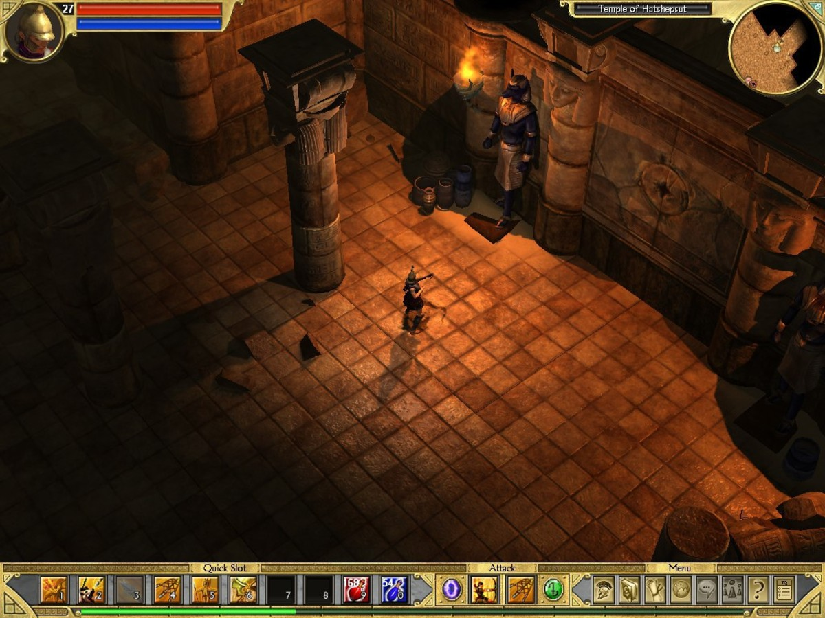 The dynamic shadows and reflective surfaces (specular and normal maps) look particularly good for a game from 2006.