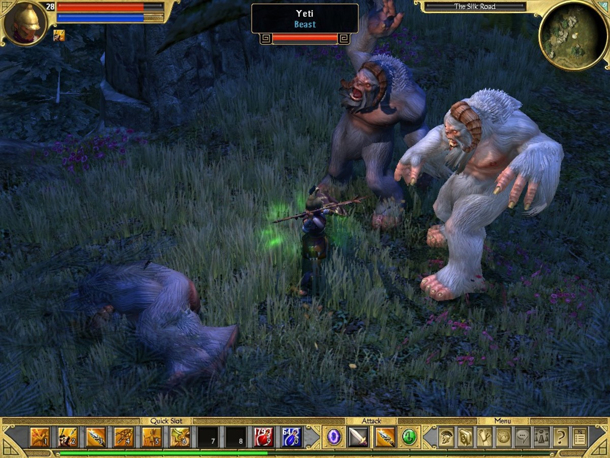 Enemies in Titan Quest are diverse and well-executed