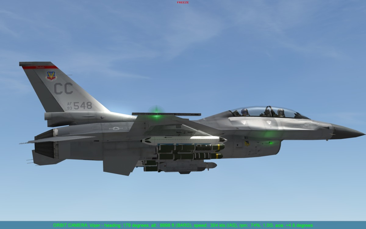 how to fly f 16