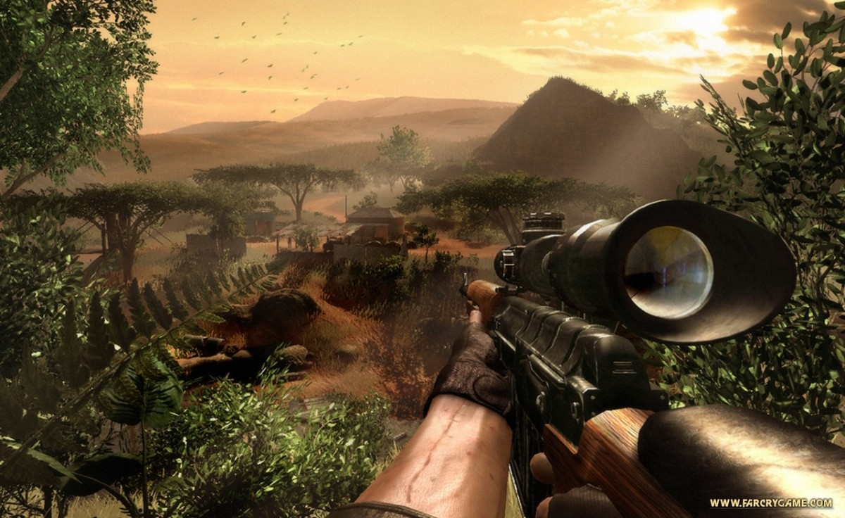 Although tastes clearly differ, not all games with great graphics have great gameplay. Although Far Cry 2 had some innovative ideas, many people didn't find the mechanics very much fun.