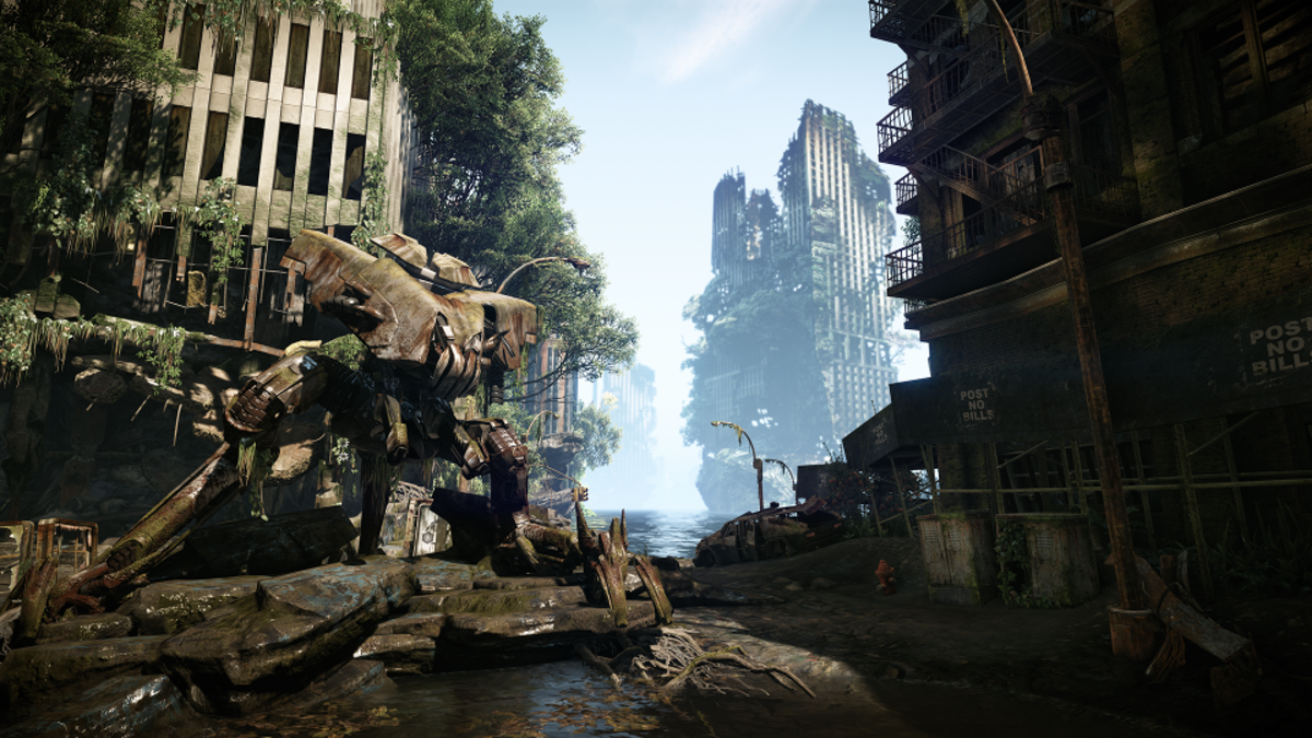 Crysis 3 shows how far graphics have come.