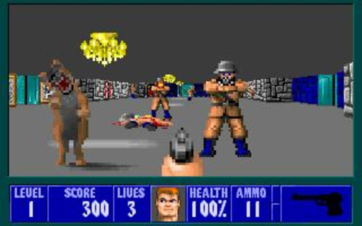 Wolfenstein 3D is now 20 years old. In one generation, game graphics have gone from bad cartoons to almost photo-realistic quality.