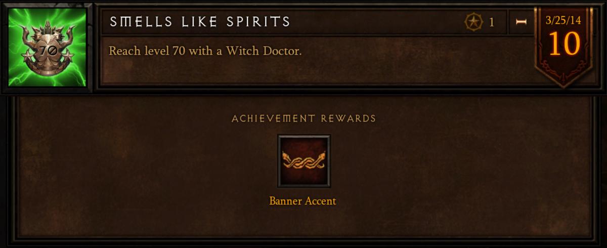 "The ""Smells Like Spirits"" achievement."