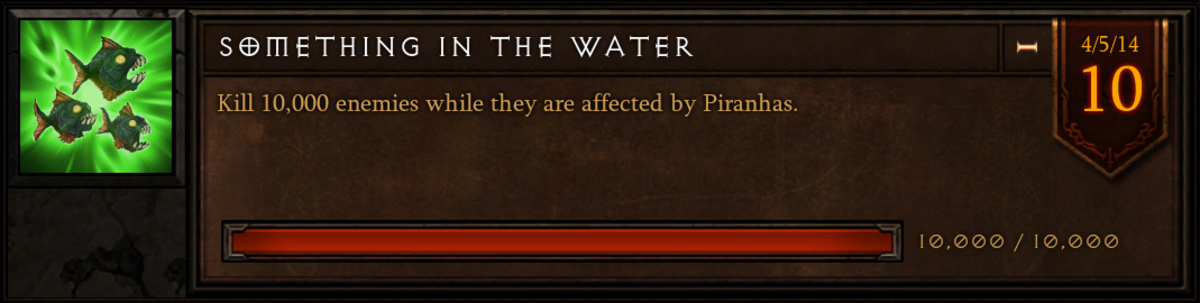 """The """"Something in the Water"""" achievement."""