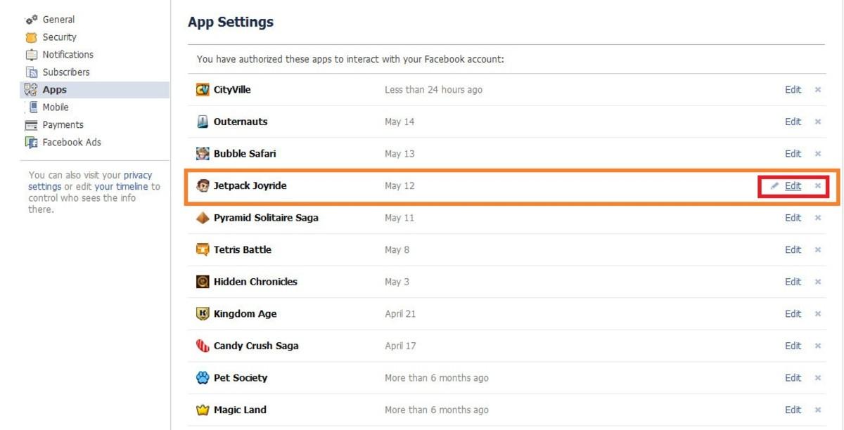 Step 3: Edit Settings