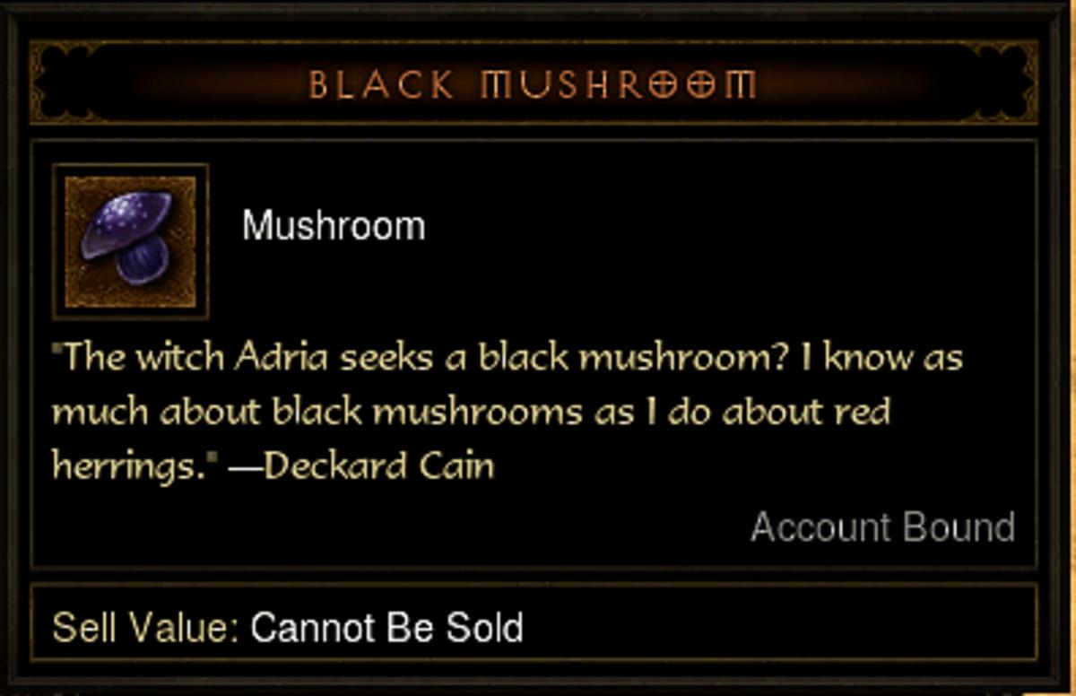 The Black Mushroom