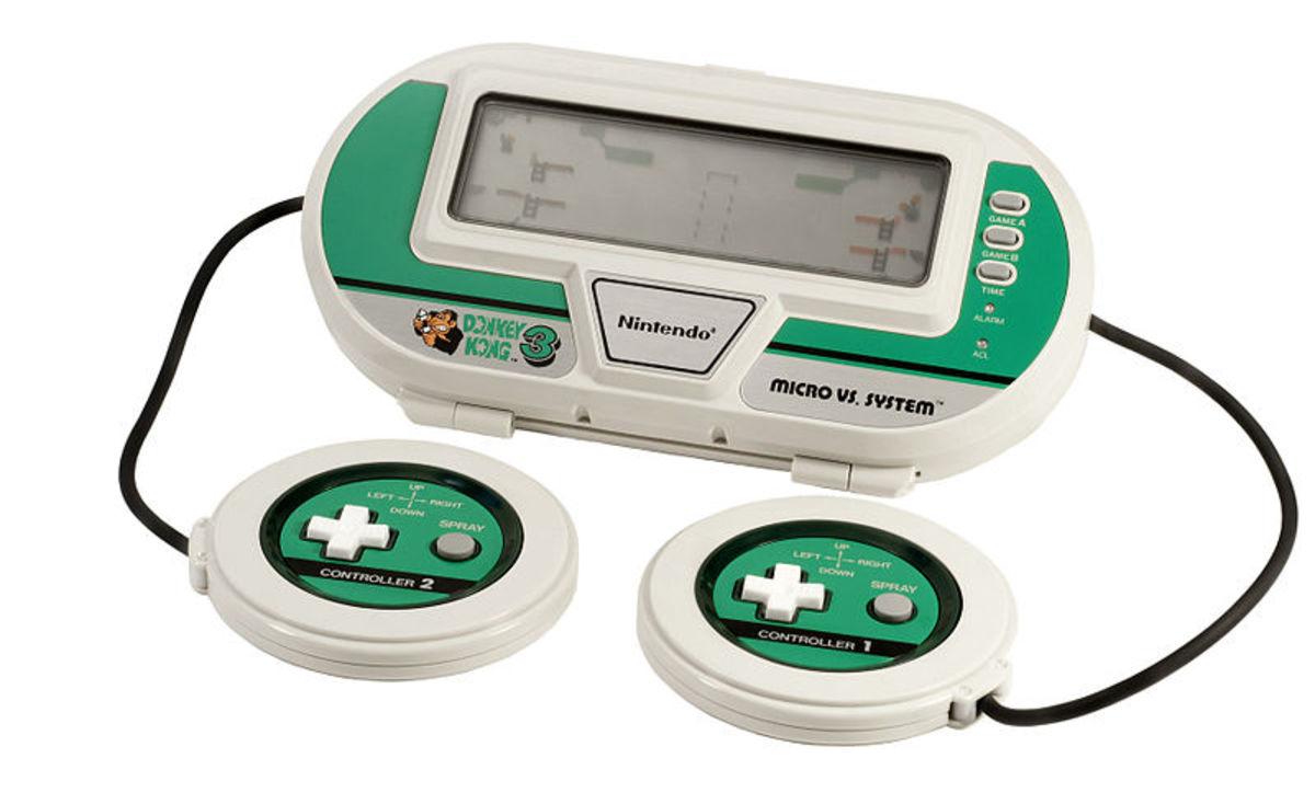 Game & Watch Micro Vs. Donkey Kong 3