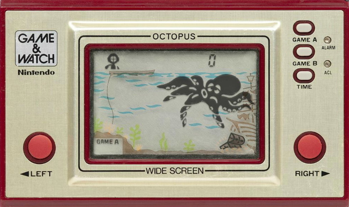 Game & Watch Octopus