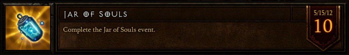 The Jar of Souls achievement.