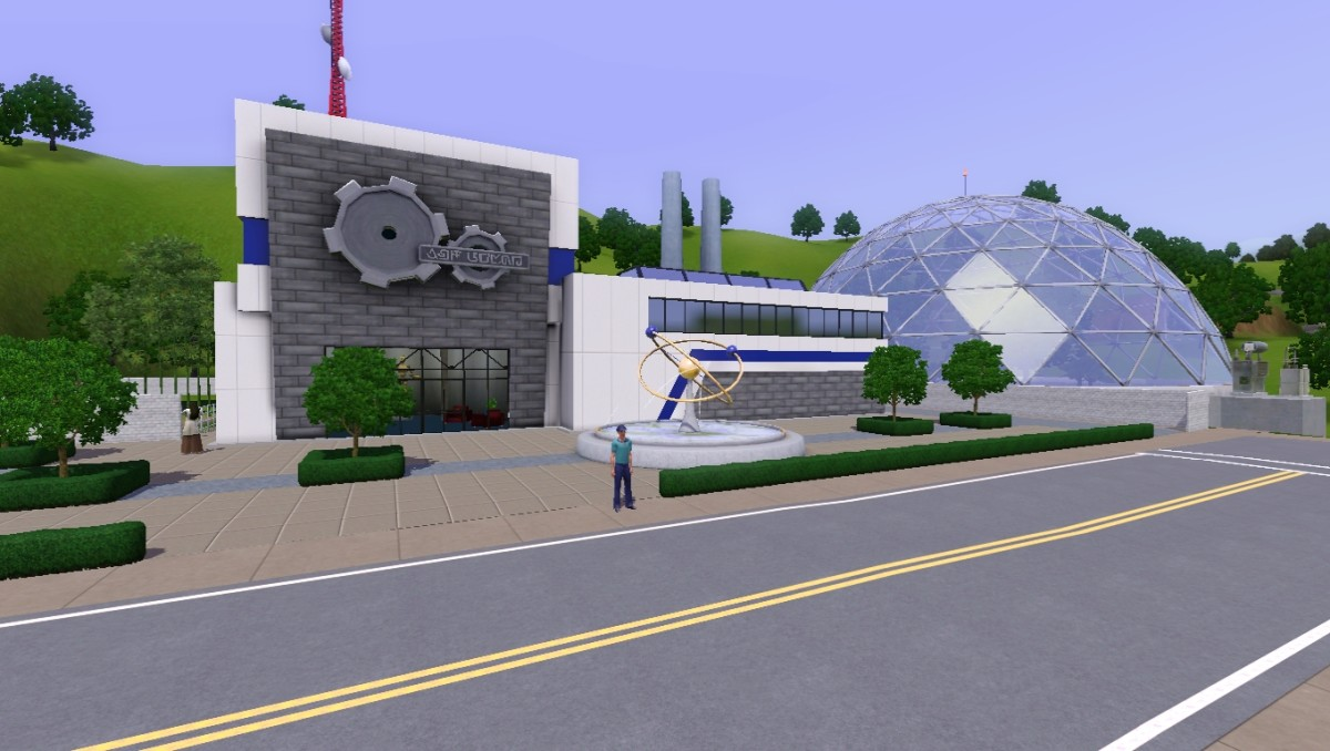 The science facility in Sunset Valley.