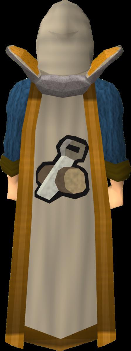 The Construction skill cape.