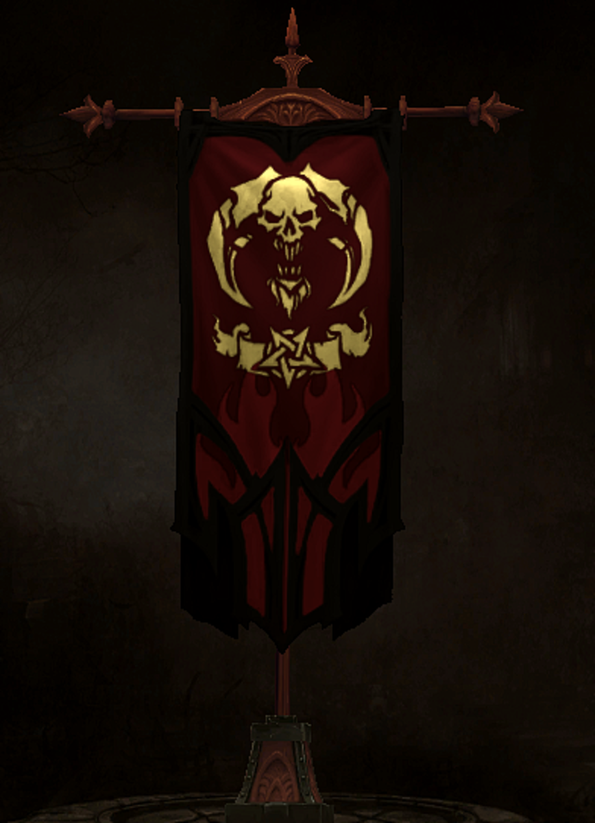 The banner sigil.