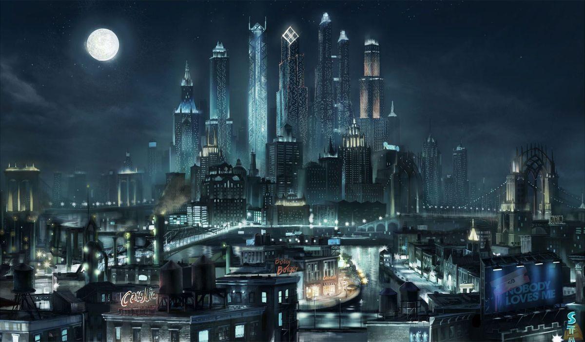 """""""Saints Row the Third"""" City Skyline"""