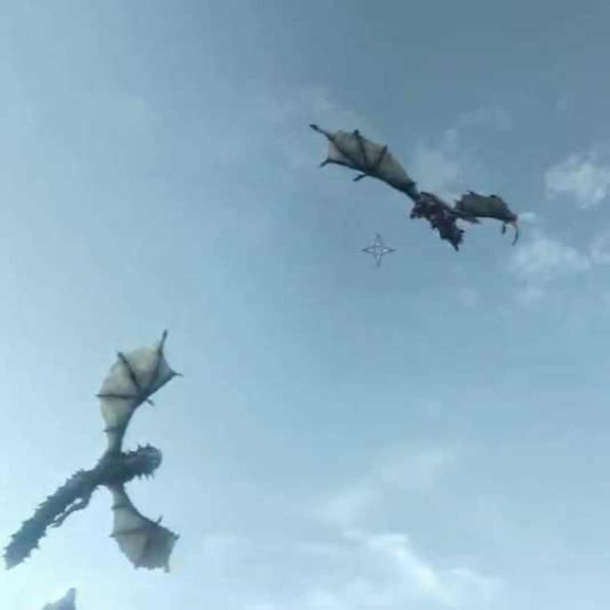 Skyrim Defeat the Twin Dragons Voslaarum and Naaslaarum