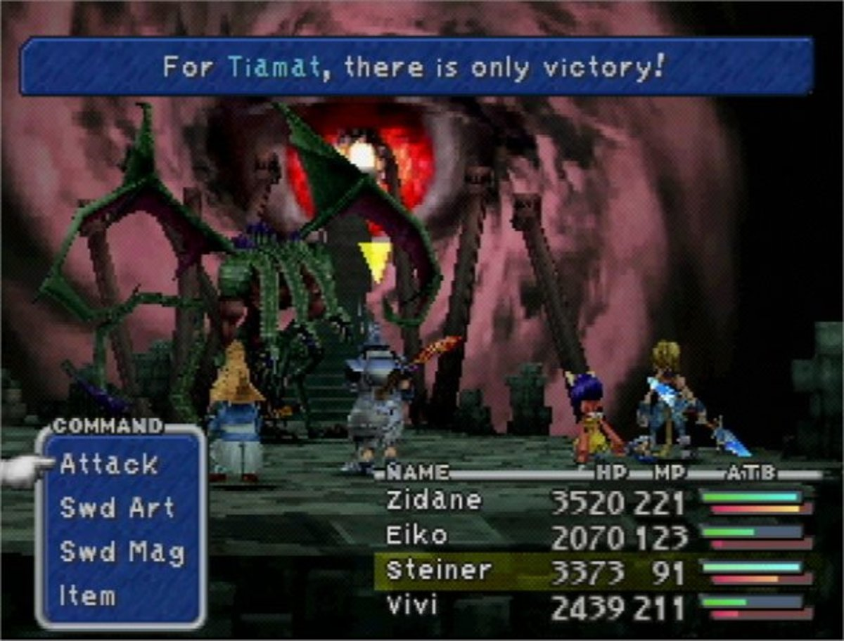 Tiamat, along with the other three of the Four Fiends from the original game, return as bosses in the game.