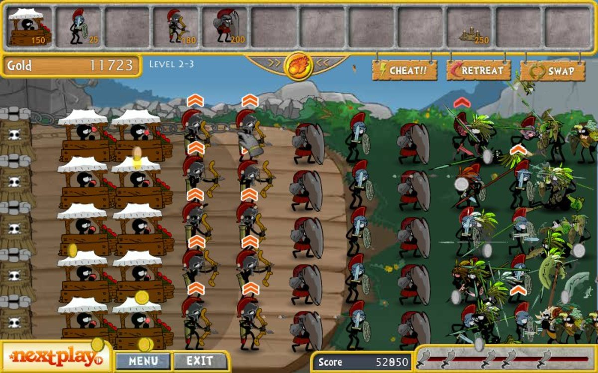 Teelonians - Clan Wars uses PvZ game mechanics with a more traditional tower defense theme and can get quite hectic on higher levels.
