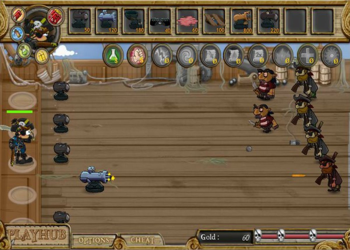 Pirates of Teelonians innovates on the PvZ formula in a number of interesting ways.