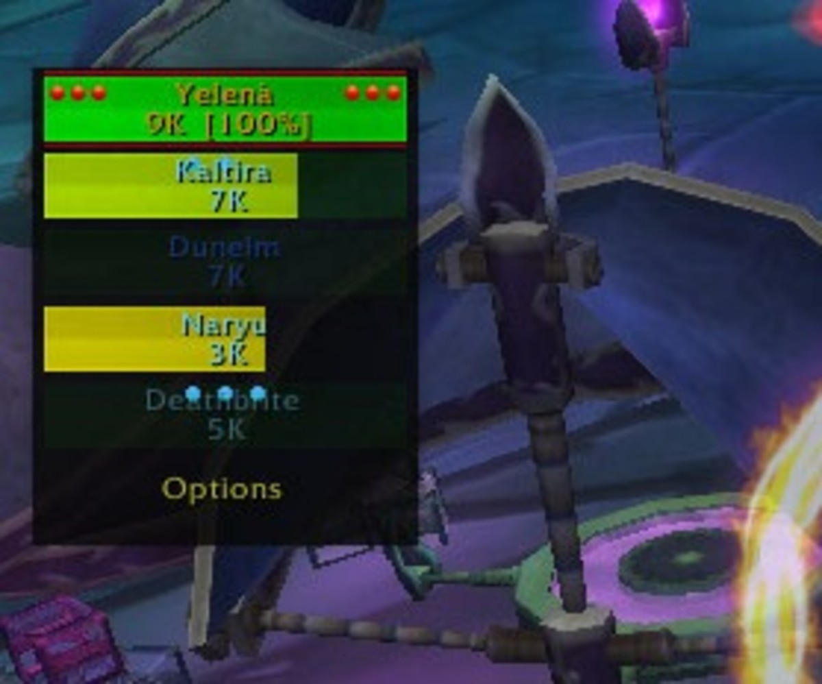 Here is an old picture of healbot, the only one that I have until it updates in WoW.