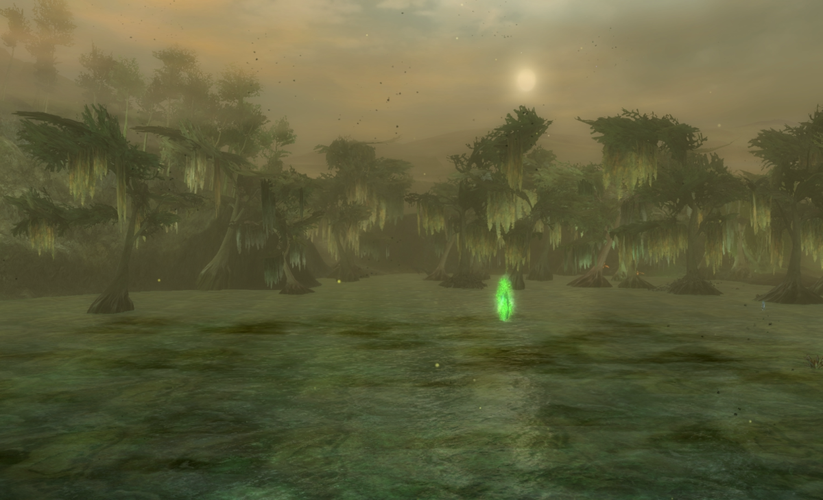 Godlost Swamp Vista