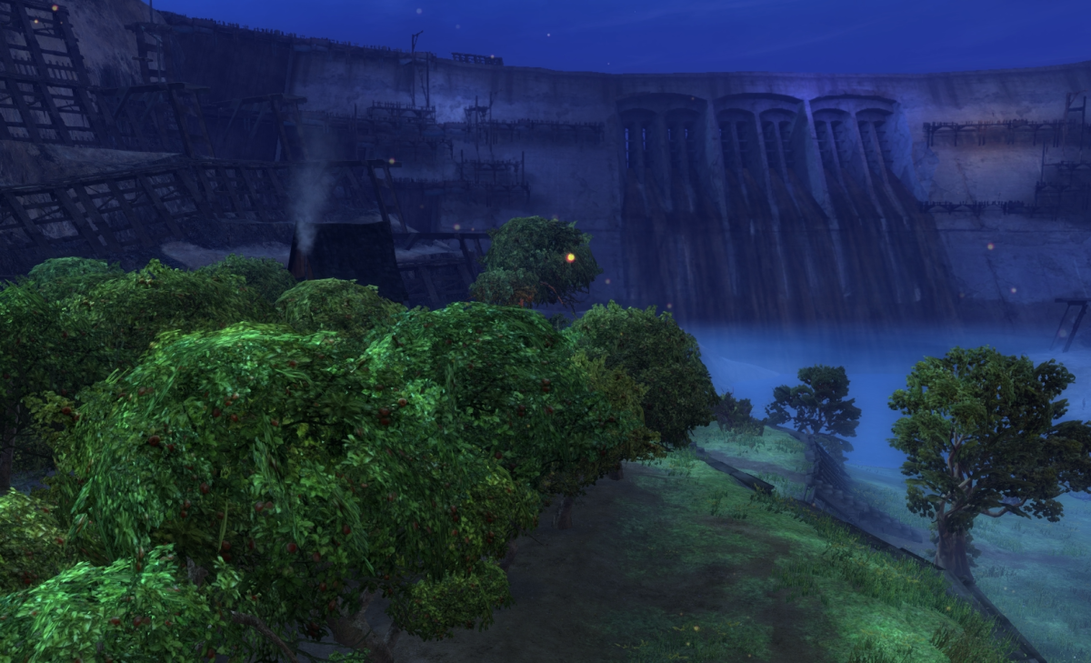 Western Divinity Dam Vista