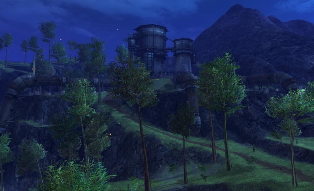 Dalin's Pumping Station Vista