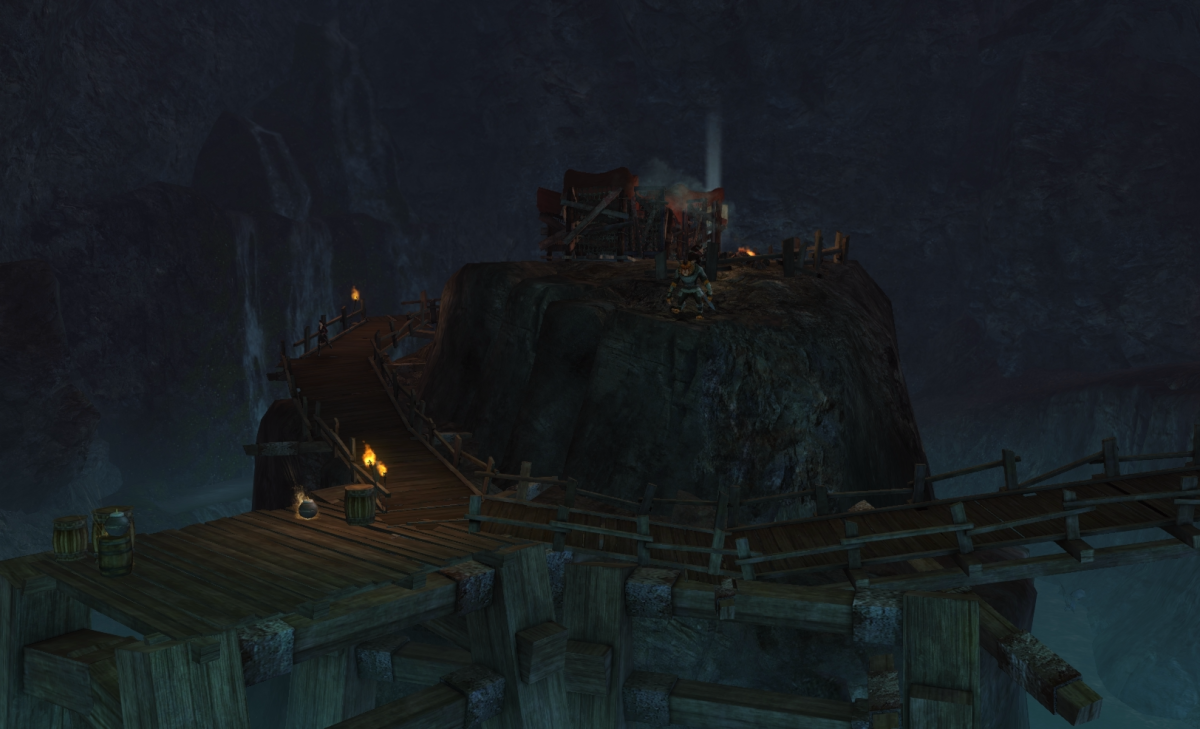 Bandit Haunt Caverns Vista