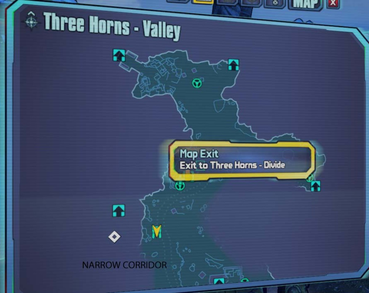 Don't miss the narrow corridor in the Three Horns Valley leading to the Fridge