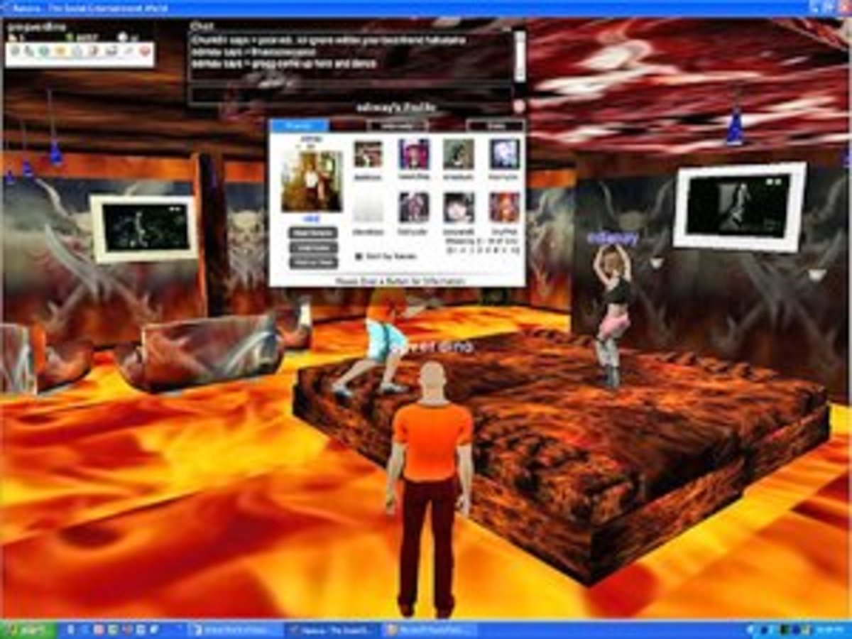 online virtual simulation dating games