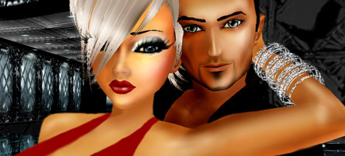 Online virtual dating games with avatars