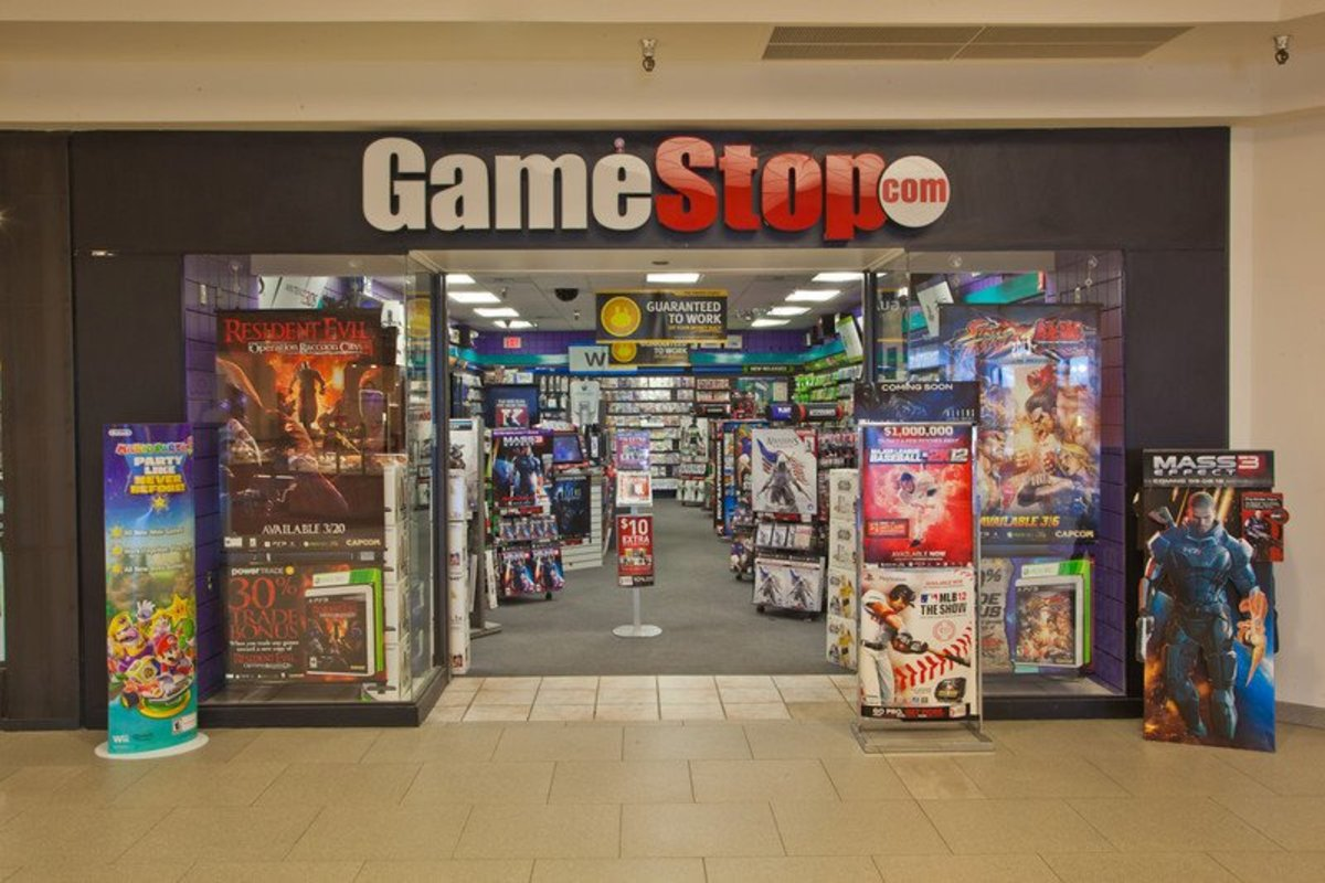 GameStop has a great selection of second-hand games.