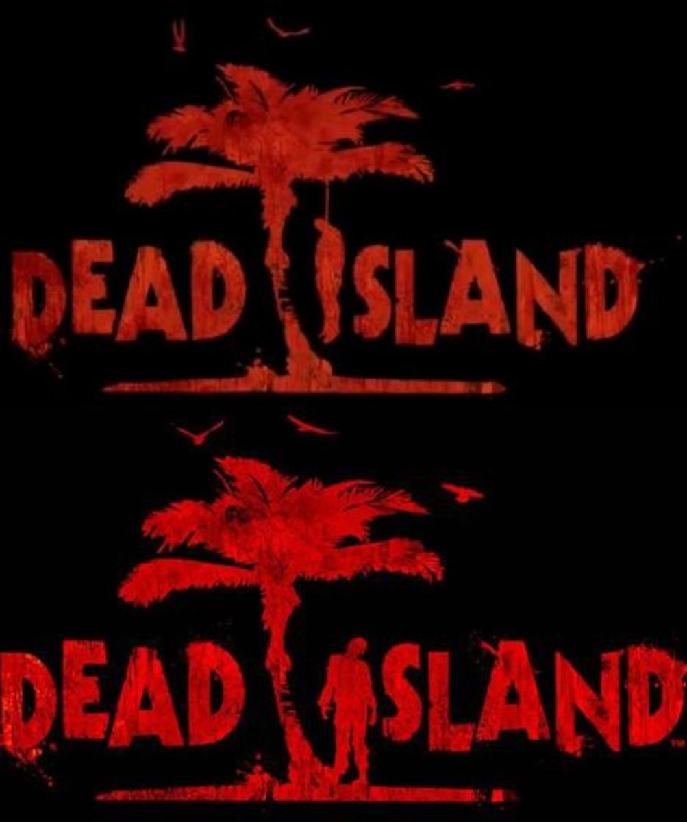 2 Versions of the Original Dead Island Logo