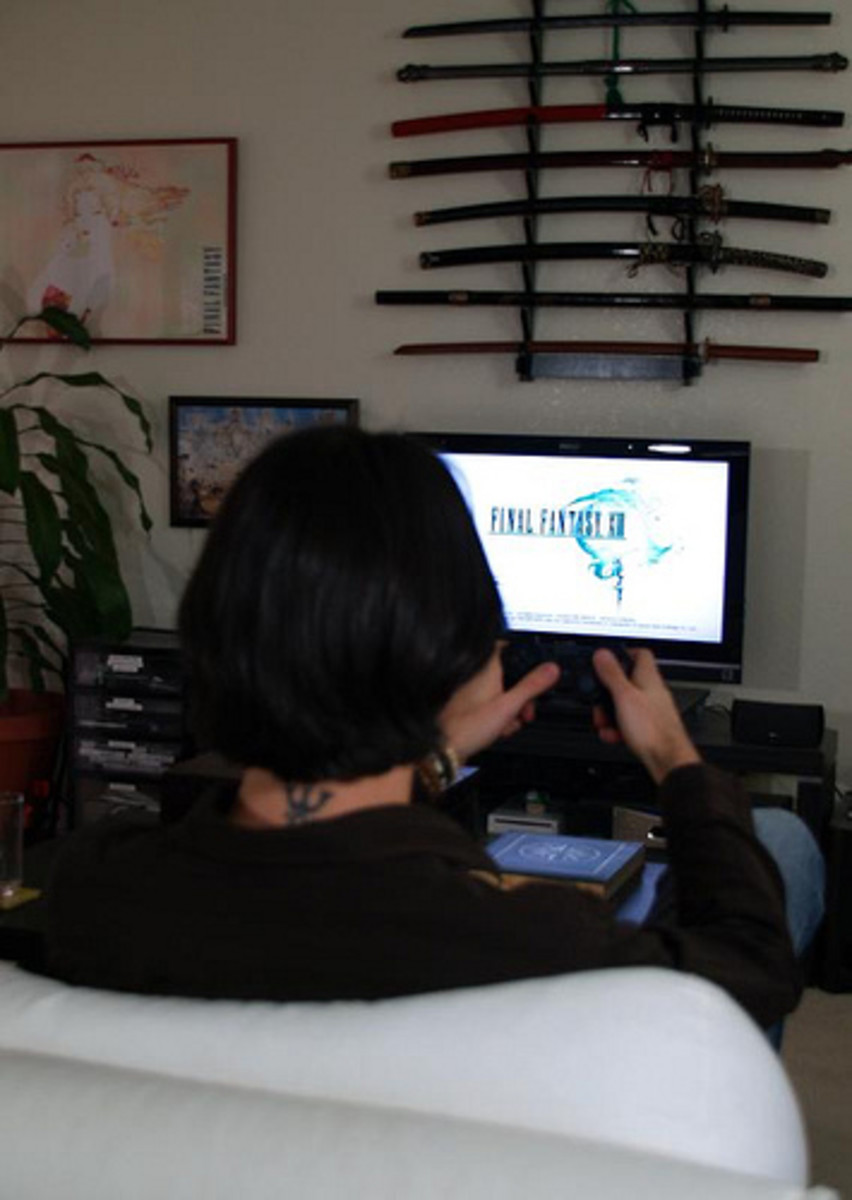 Getting Ready to Play Final Fantasy XIII