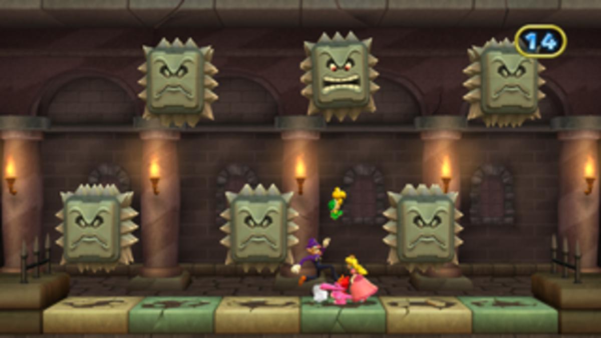 Mario Party 9 Thwomper Room