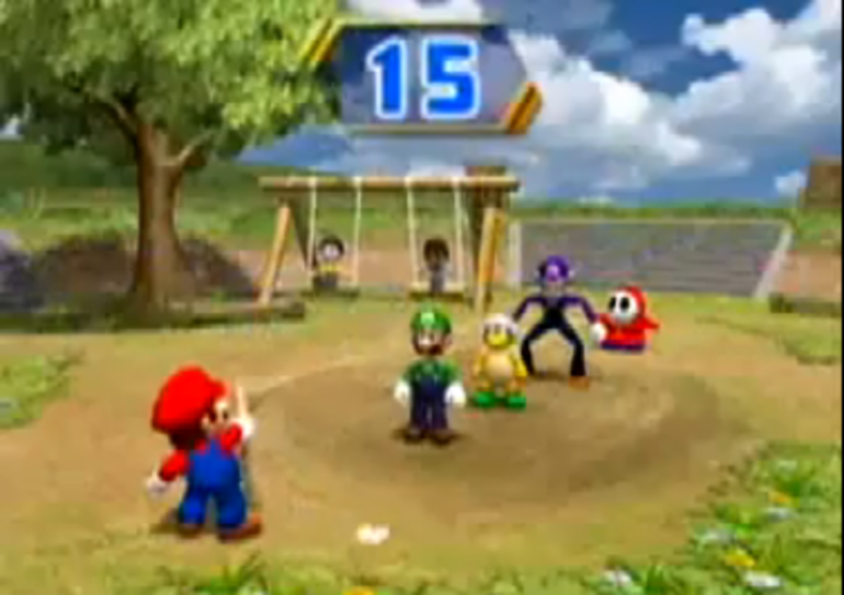 Mario Party 8 Chump Rope