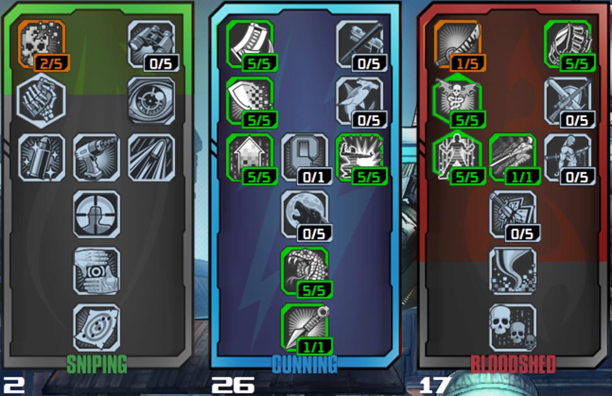 Build 4: Zero Shotgun. Assassinating has never been so loud