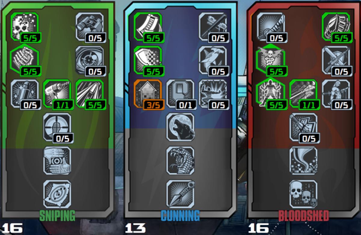 Build 3: Close Ranged + Balanced