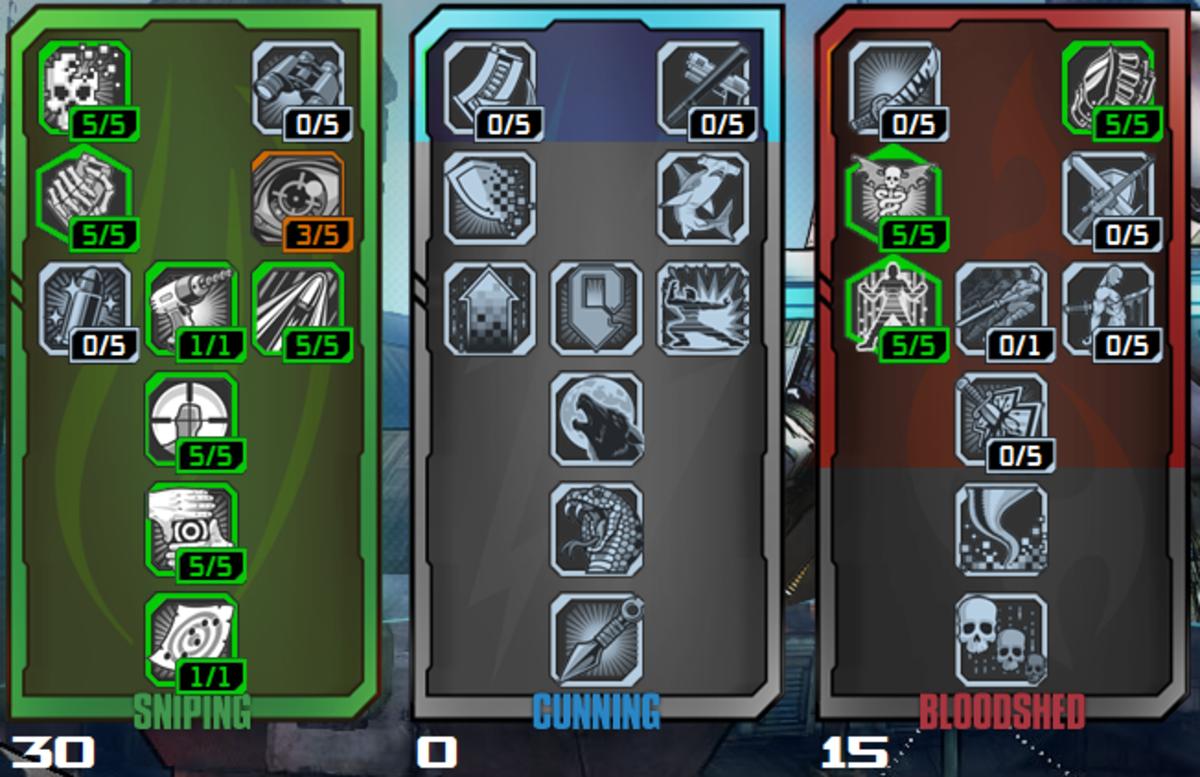 Build 1: Sniper