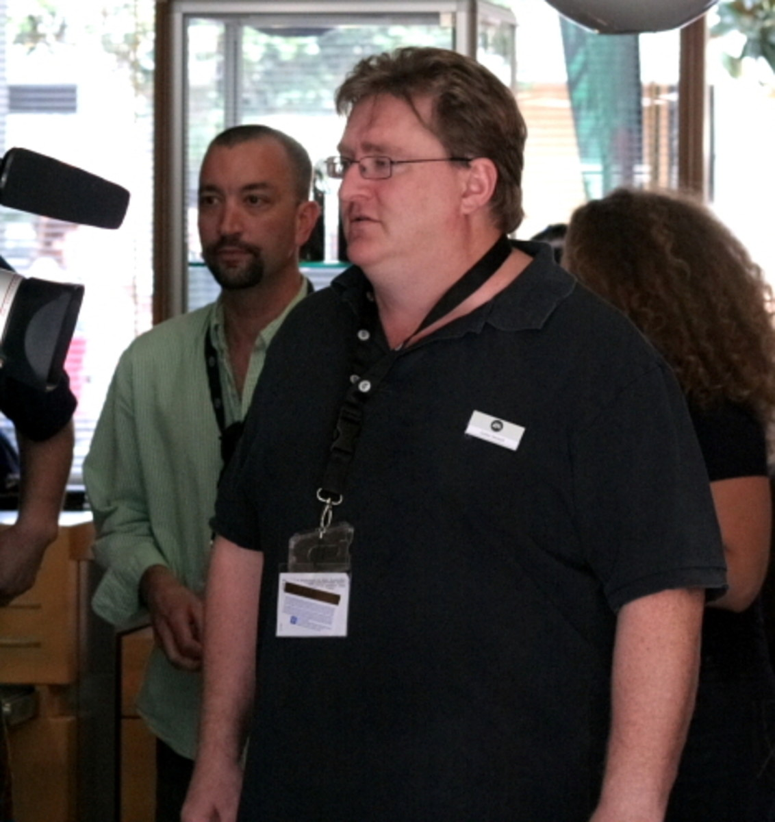 Gabe Newell: Bigwig in chief at Valve Corporation