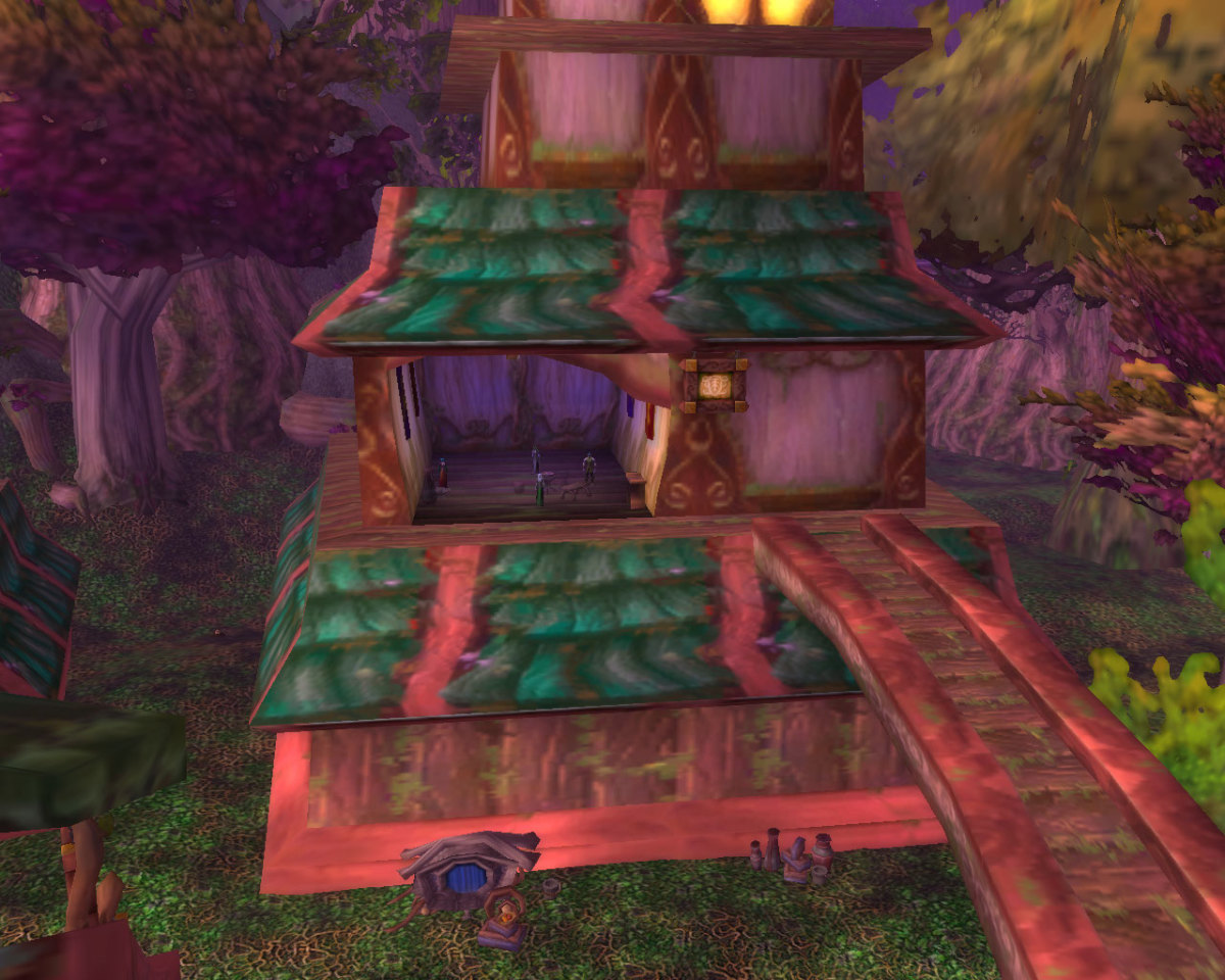 Visitor Centers are the only buildings with guild vendors.