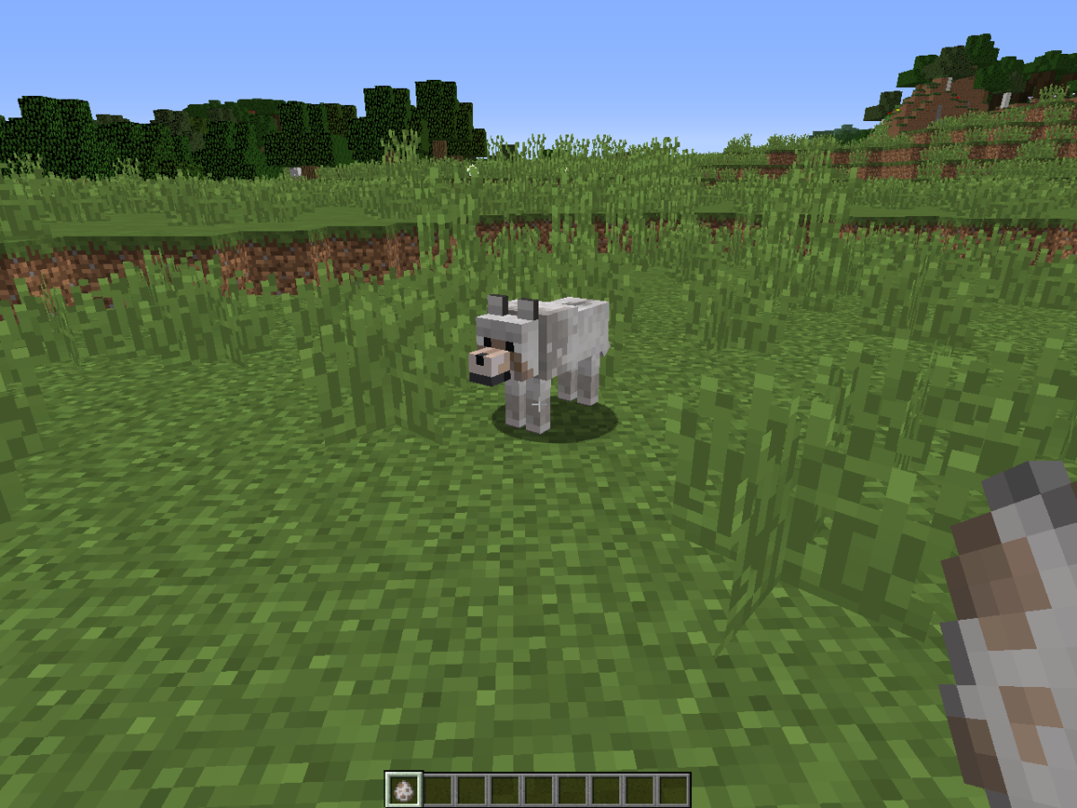 Spawn eggs for animals and monsters are accessible in Creative mode.