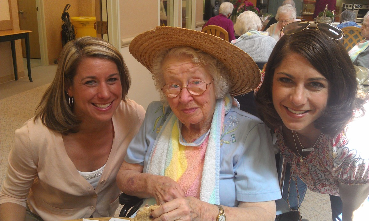 Keeping grandma entertained helps diminish her depression