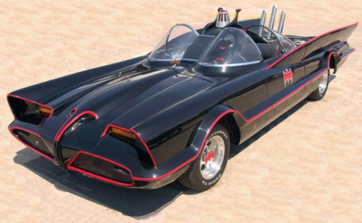 A nice clean Batmobile.  But then there's trouble.