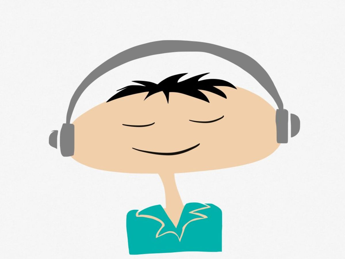 Audio books and music can help you relax your stress and anxiety.