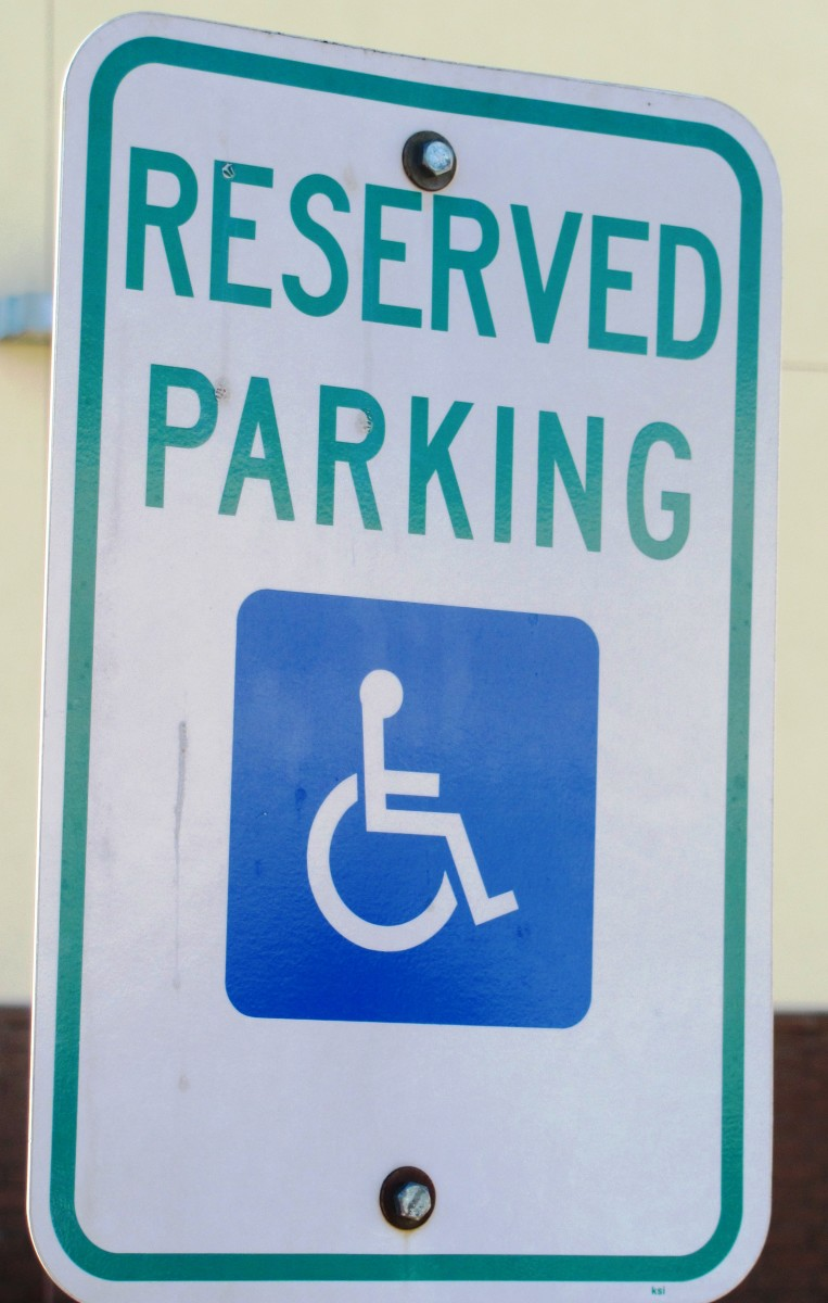MS was not the way I wanted to score a priority parking spot, but disabled parking does help when you have mobility issues.