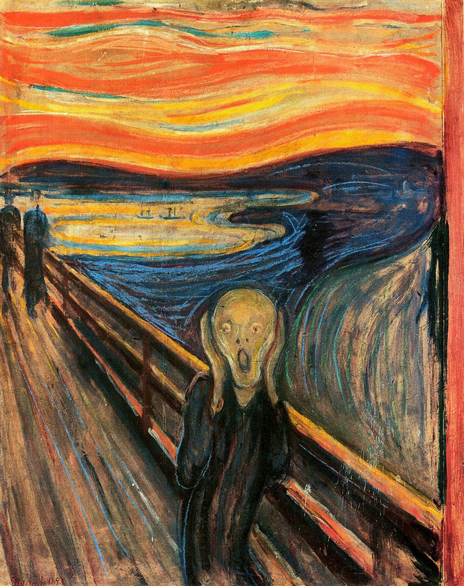 """The Scream,"" by Edvard Munch, is often used as a visual symbol in depicting the facial pain of trigeminal neuralgia."