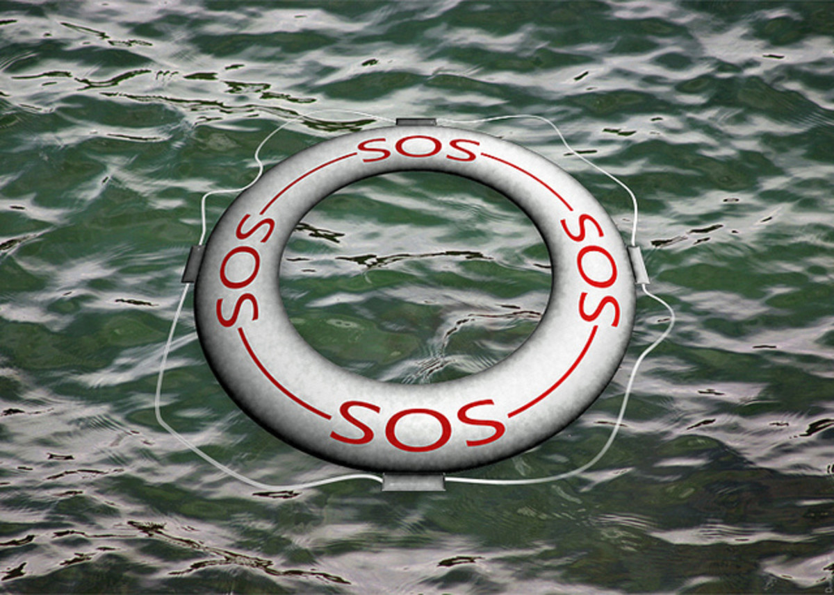 SOS life preserver