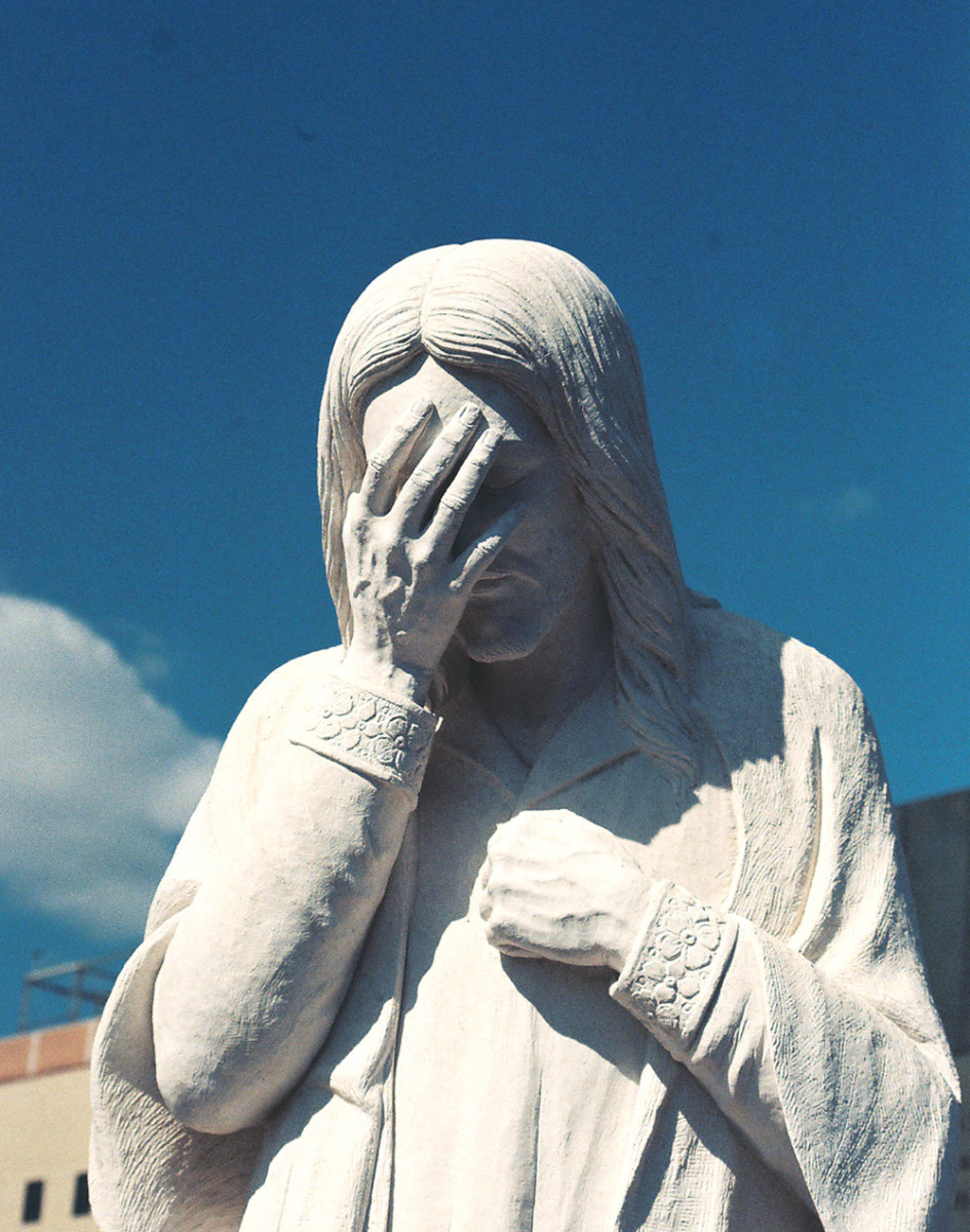 Sometimes, It's Enough to Make an Angel Do a Facepalm
