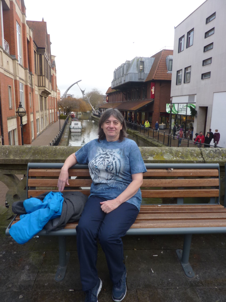 That's me. Not a brilliant picture but not shameful either. Four trouser sizes smaller, much fitter and dare I say younger looking?
